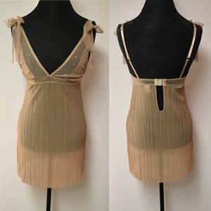 Gold Rampage Chemise
